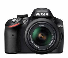 Cámara Digital Nikon D3200 + lente Nikon serie DX 35 mm 1.8
