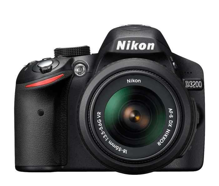 Cámara Digital Nikon D3200 + lente Nikon serie DX 35 mm 1.8 - 0