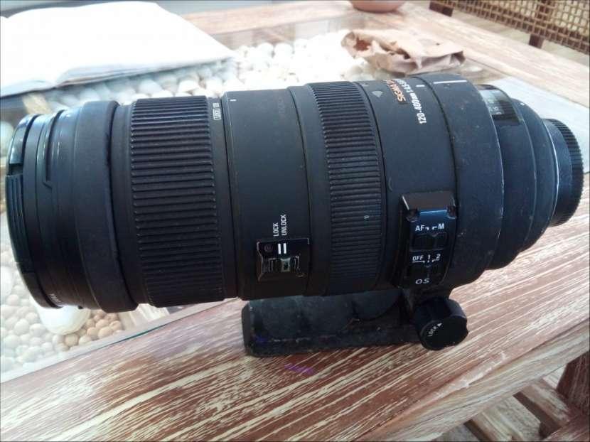 Lente Sigma 120 - 400 1:4 55 Nikon - 2