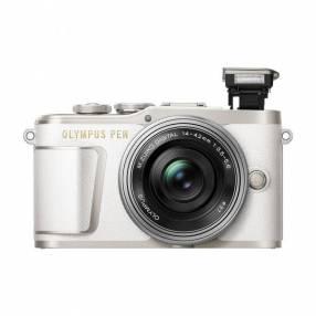 Cámara Olympus PEN E-PL9 Kit 14-42mm con accesorios