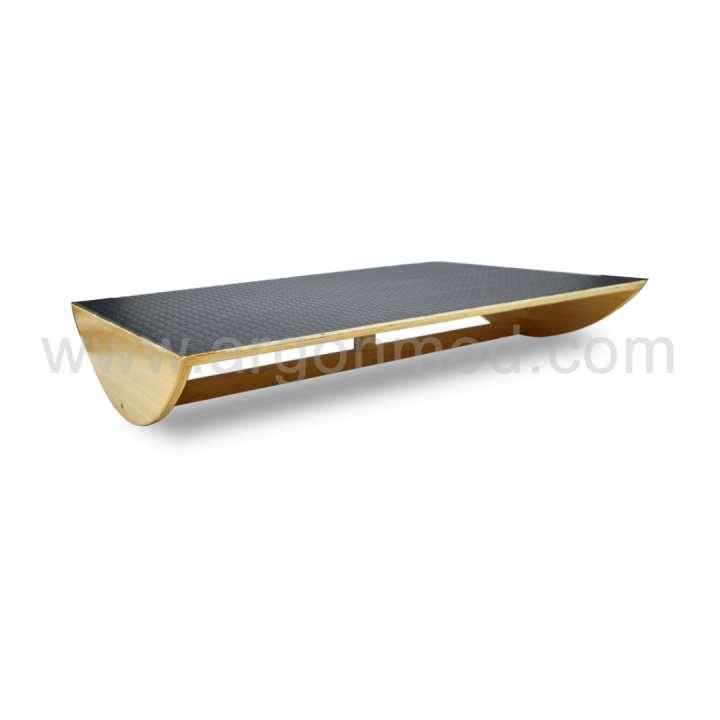 Tabla de equilibrio rectangular 90x60x15cm - 0