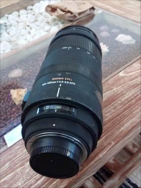 Lente Sigma 120 - 400 1:4 55 Nikon