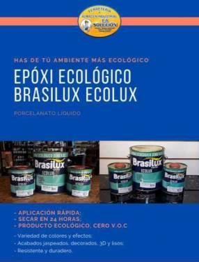 Porcelanato líquido ecológico Brasilux Ecolux