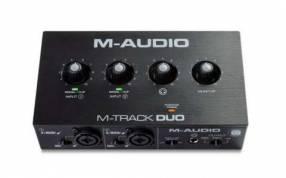 Interfaz de audio M Audio M Track Duo