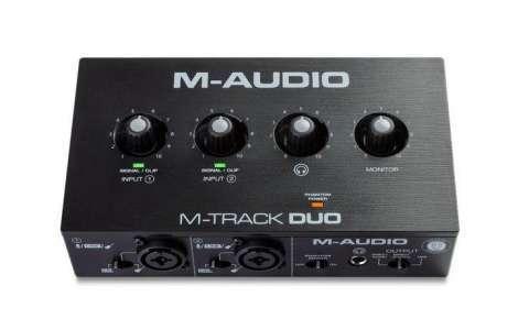 Interfaz de audio M Audio M Track Duo - 0