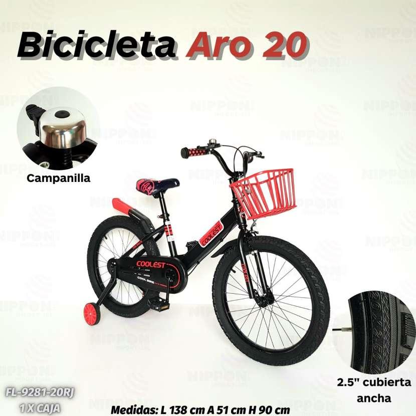 Bicicleta aro 20 - 0