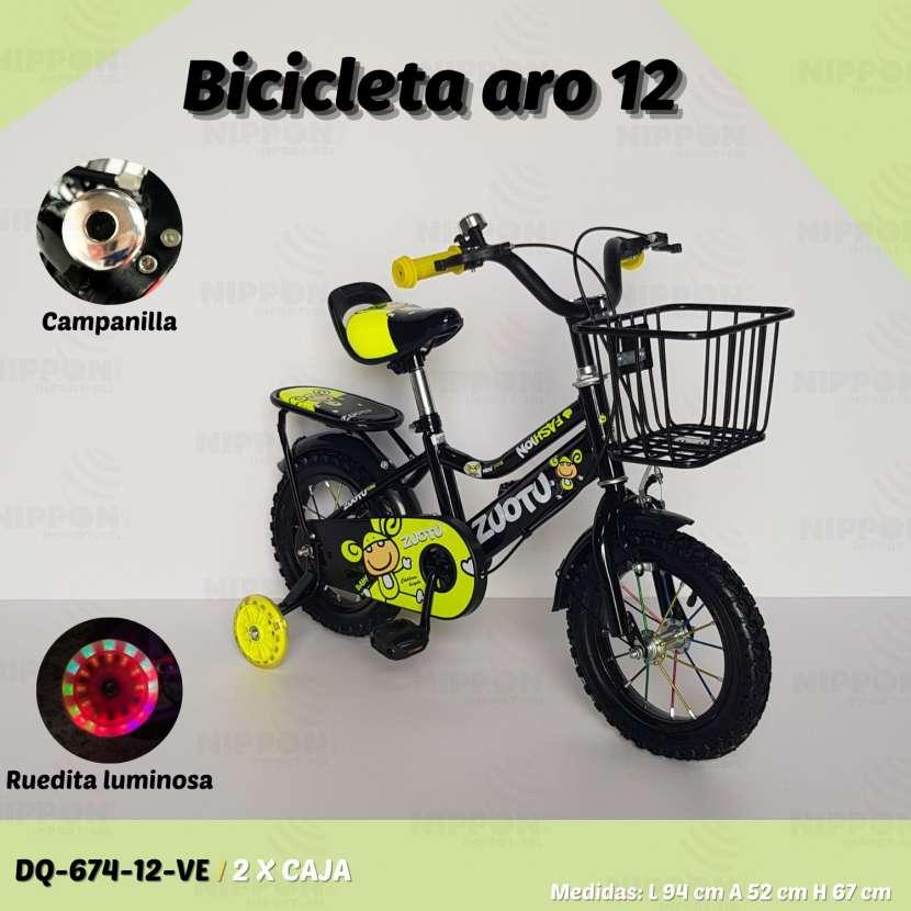Bicicleta aro 12 - 0