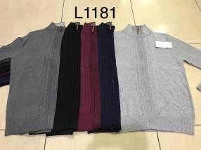 Suéter para hombre con cierre SINGKEIL1181