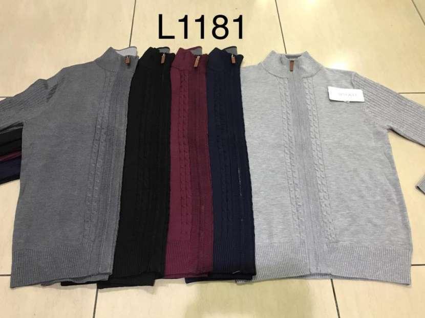 Suéter para hombre con cierre SINGKEIL1181 - 0