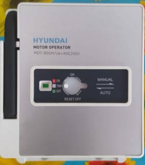 Interruptor motorizado para accionamiento de TM Hyundai hasta 800 Am