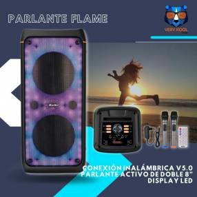 Parlante flame