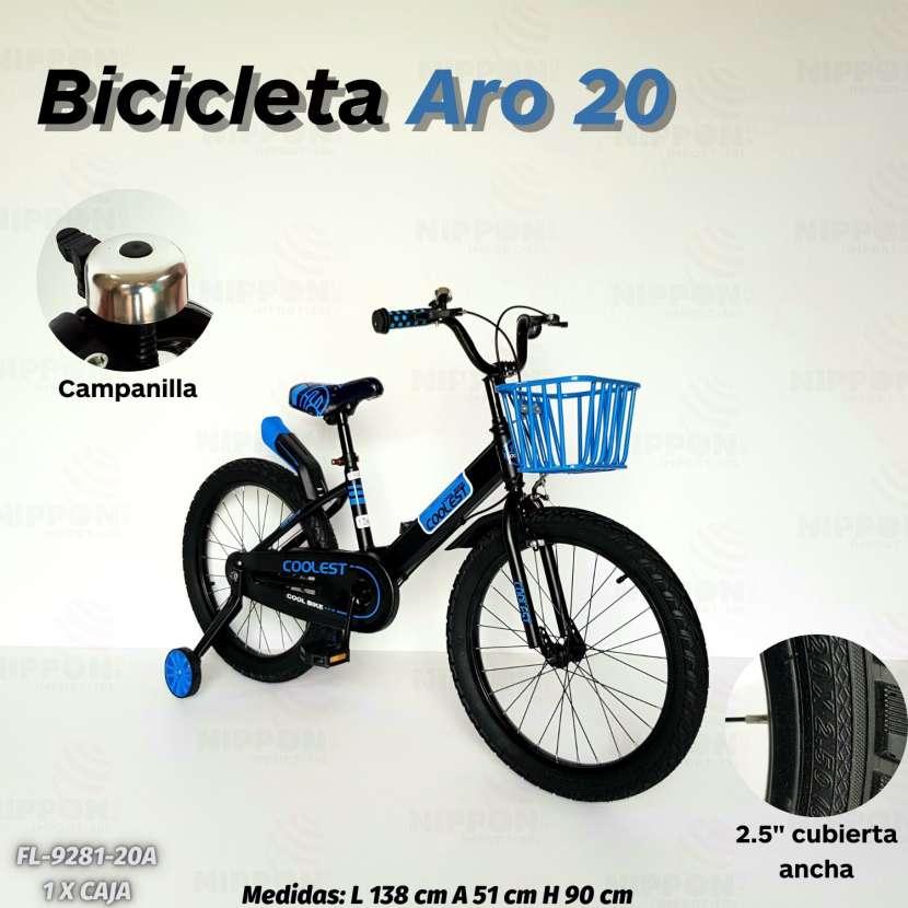 Bicicleta aro 20 - 1