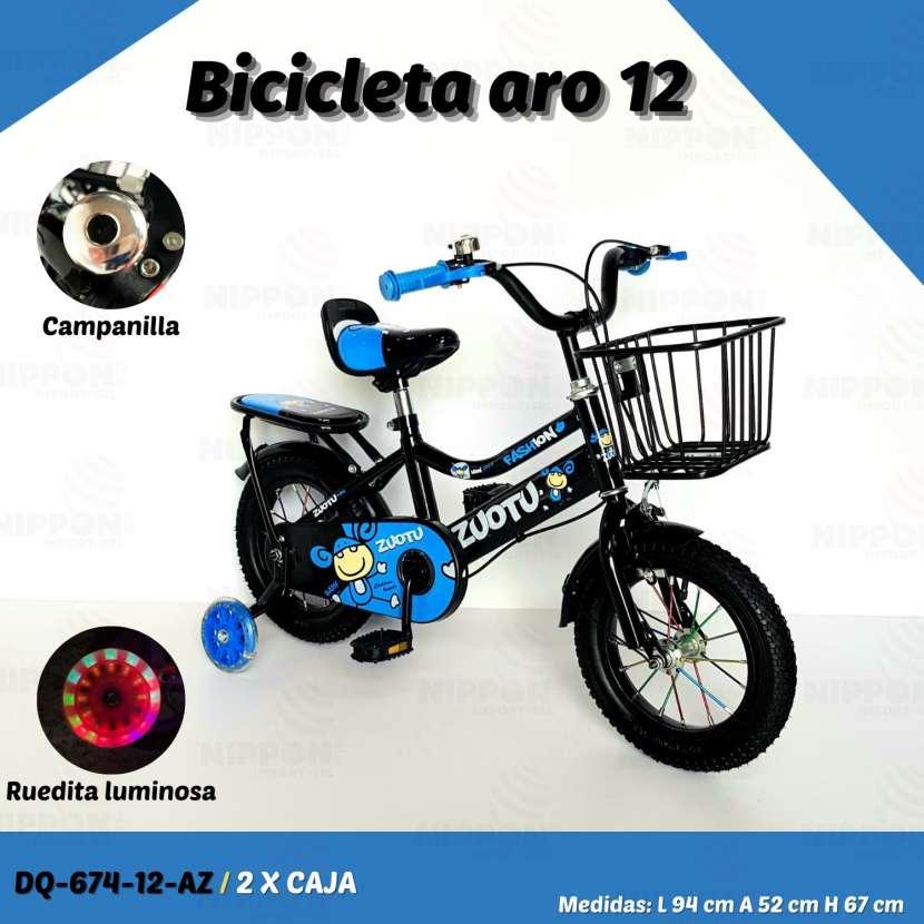 Bicicleta aro 12 - 1