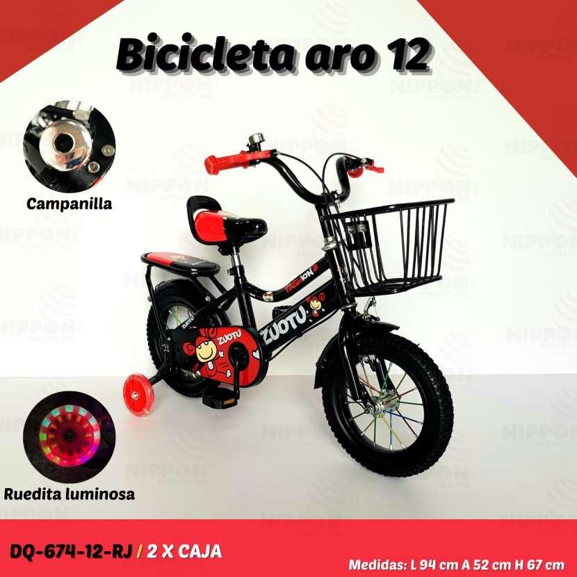 Bicicleta aro 12 - 2