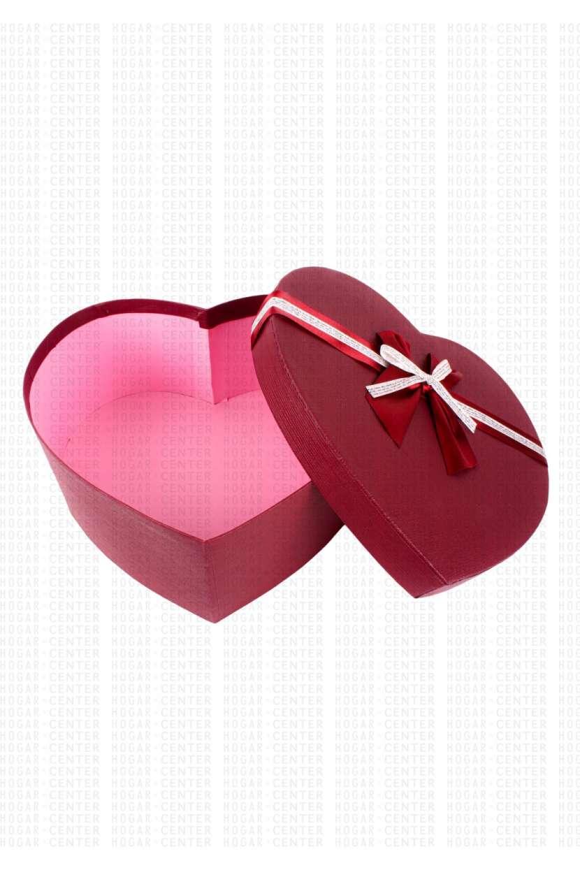 Caja corazón para regalo 30x13cm - 1