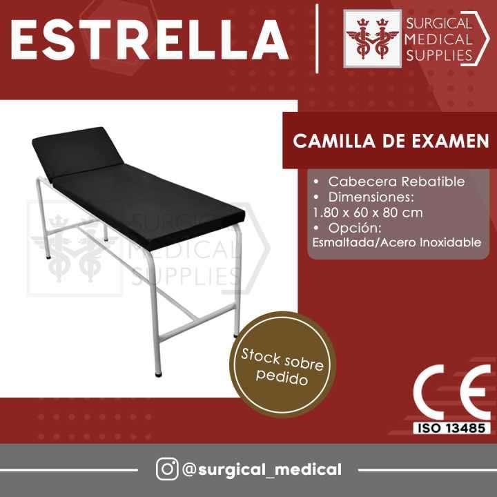 Camilla de examen - 0