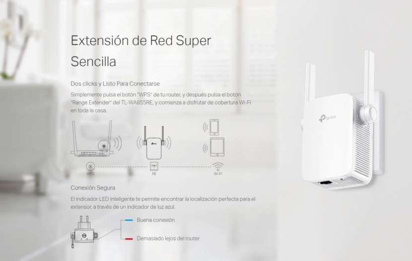 Repetidor Wi-Fi 300Mbps TL-WA855RE - 1