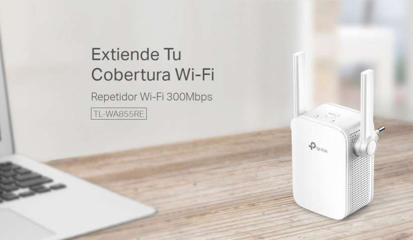 Repetidor Wi-Fi 300Mbps TL-WA855RE - 4