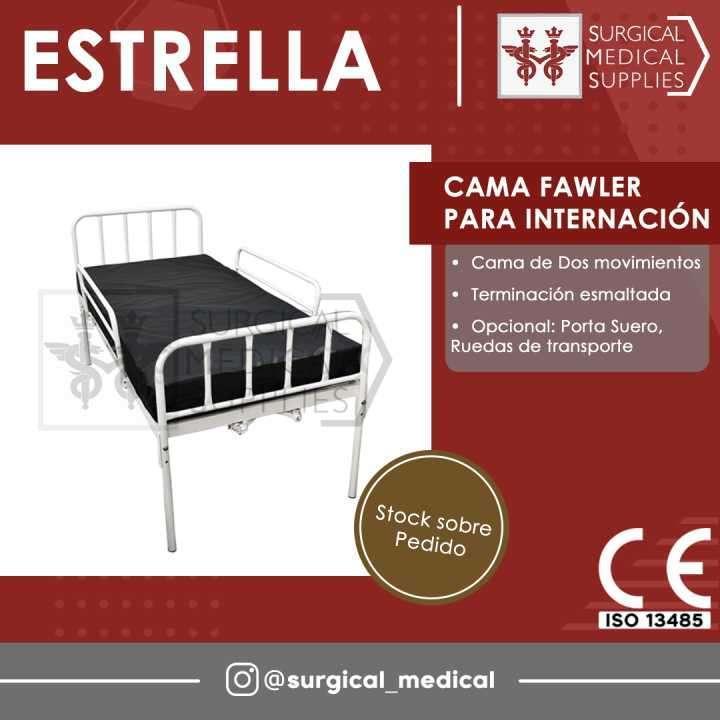 Cama Fawler p/ Internación - 0