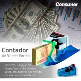 Contador de billete portatil consumer (3235)