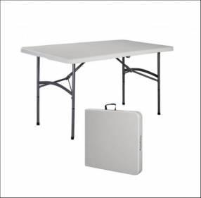 Mesa plegable maletin 1,22 cm