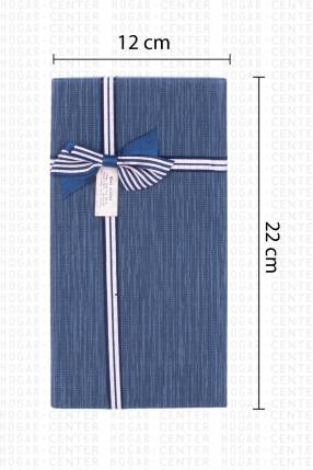 Caja rectangular para regalo 22x12x5cm
