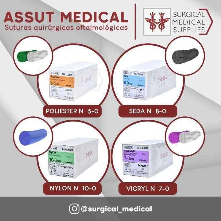 Suturas Quirúrgicas Oftalmológicas - 0