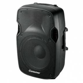 Speaker box con pedestal Consumer 12 pulgadas
