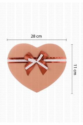 Caja corazón para regalo 28x11cm