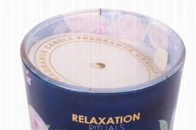 Vela aromática 7x8cm fragancia te blanco y violeta 130 gramos