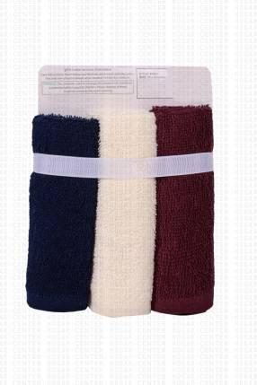 Kit de 6 toallas de algodón 25x25cm para bebé
