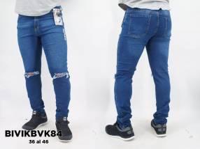 Jeans elastizado para caballero BIVIKBVK84