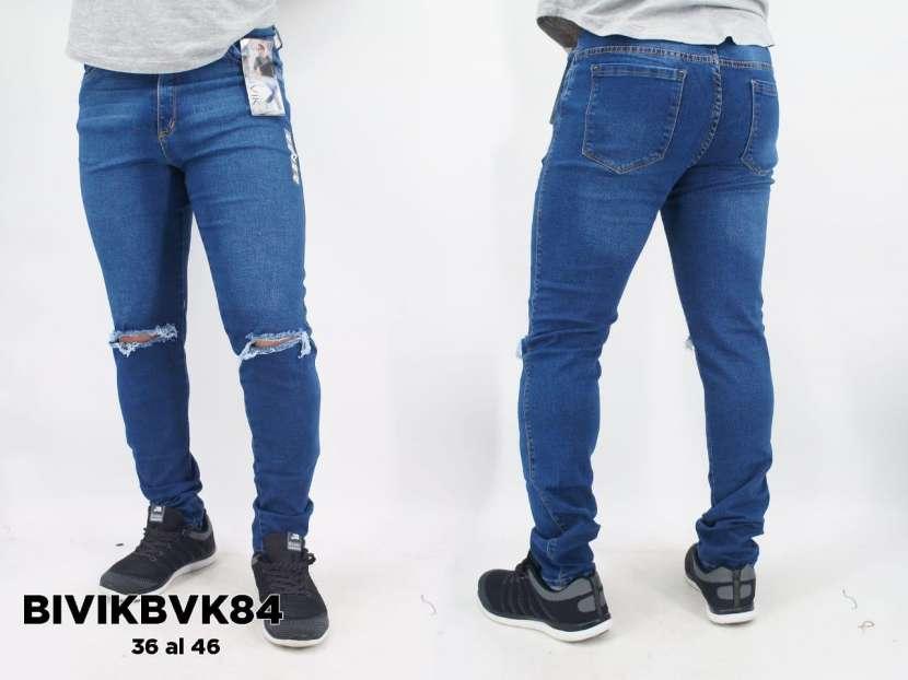 Jeans elastizado para caballero BIVIKBVK84 - 0