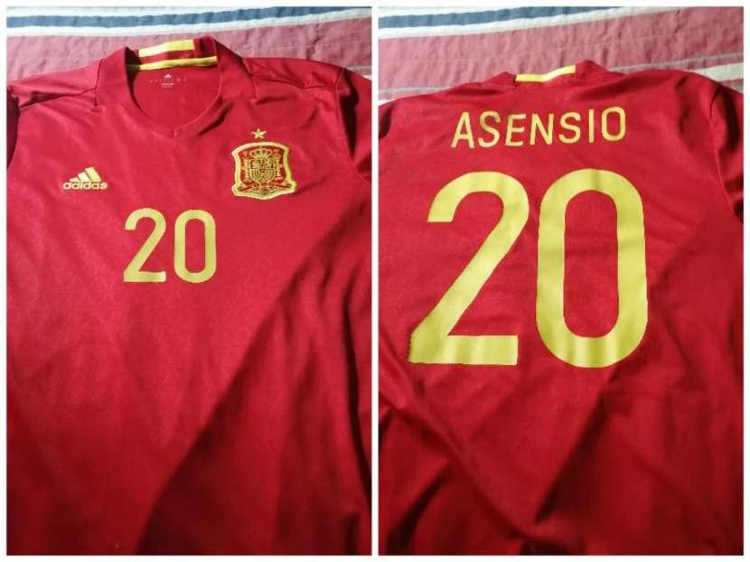 Remera España dorsal 20 - 0