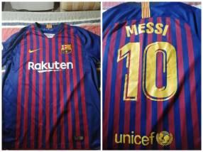 Remera del Barcelona dorsal 10