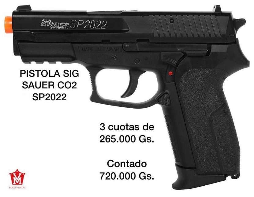 Pistola airsoft Sig Sauer SP2022 - 0