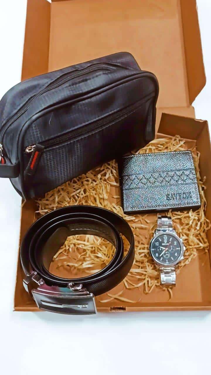 Neceser billetera reloj y cinto - 2