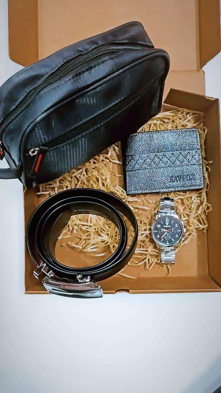 Neceser billetera reloj y cinto - 4