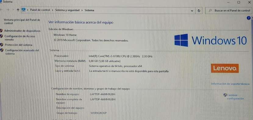 Notebook Lenovo Intel core i3 6ta generación - 7