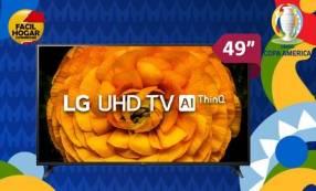 Televisor LG 49 pulgadas Smart Ultra HD 4k