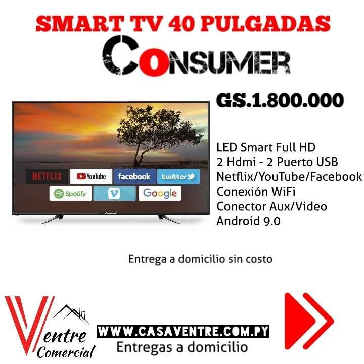 TV LED Smart 40 pulgadas Consumer - 0