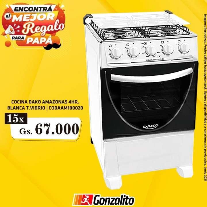 Cocina Dako Amazonas 4H - 0
