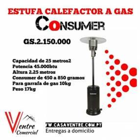 Calefactor a gas Consumer