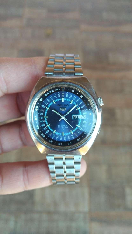 Reloj Vintage Seiko 5 Perpetual Calendar Automatic 1974 - 0