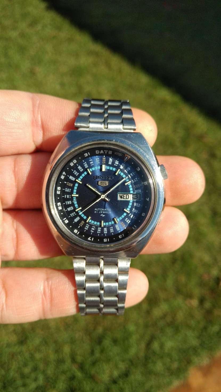 Reloj Vintage Seiko 5 Perpetual Calendar Automatic 1974 - 1