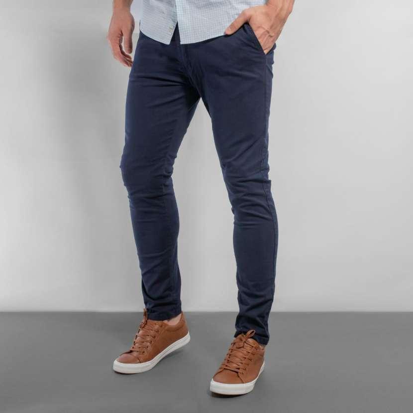 Pantalon corte chino - 1