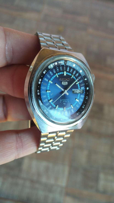 Reloj Vintage Seiko 5 Perpetual Calendar Automatic 1974 - 2