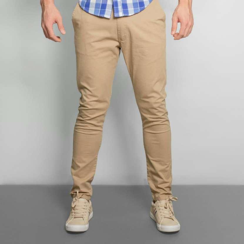 Pantalon corte chino - 2