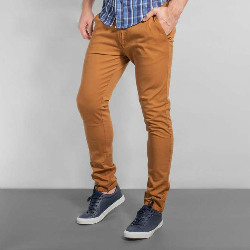 Pantalon corte chino - 3