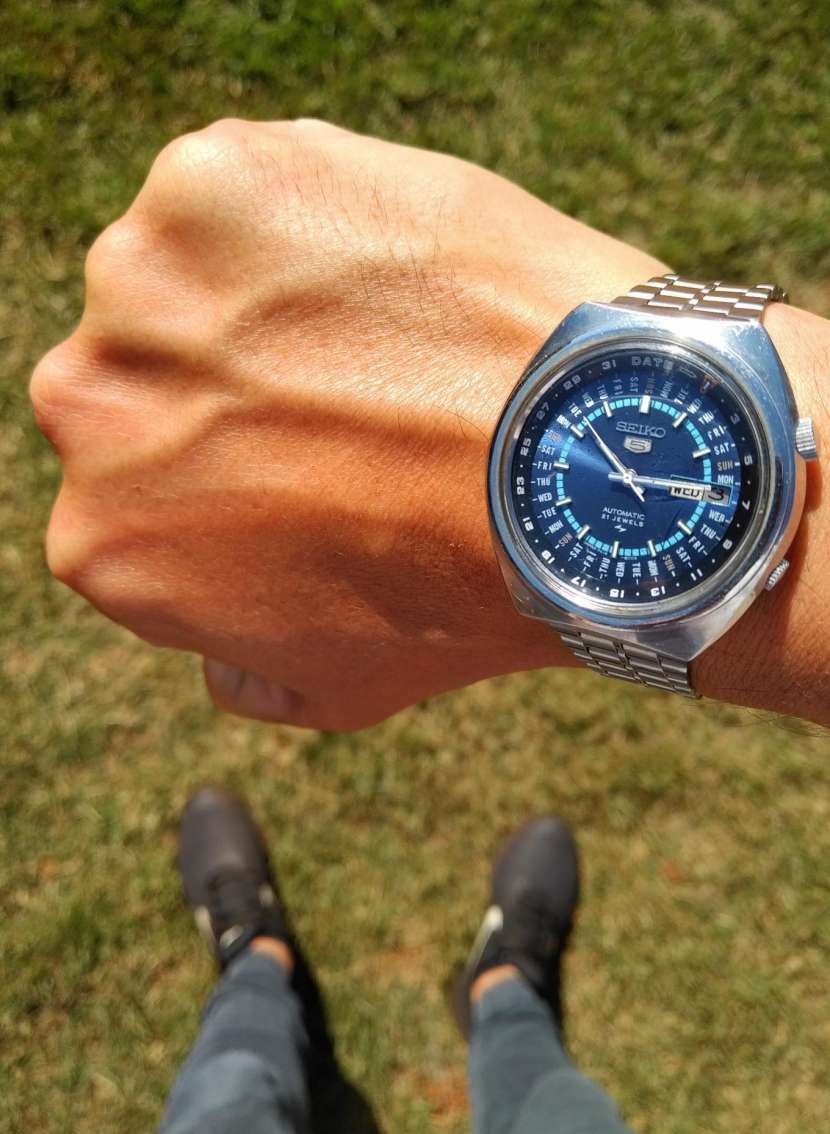 Reloj Vintage Seiko 5 Perpetual Calendar Automatic 1974 - 5